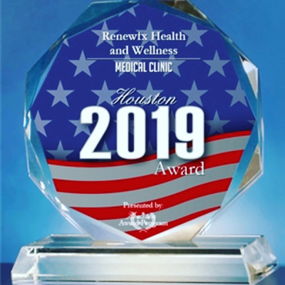 Houston RenewFX 2019 Award Medical Clinic